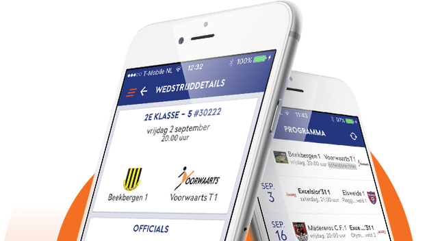 Vernieuwde KNVB apps
