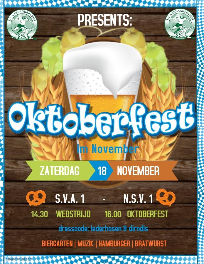 SVA presents: Oktoberfest in November