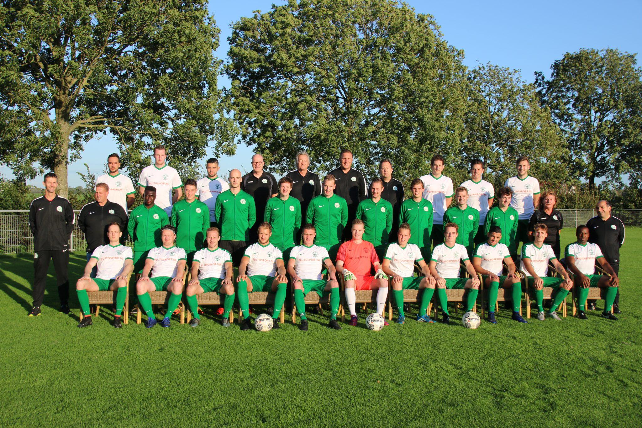 Selectie SV Aarlanderveen 2019/2020
