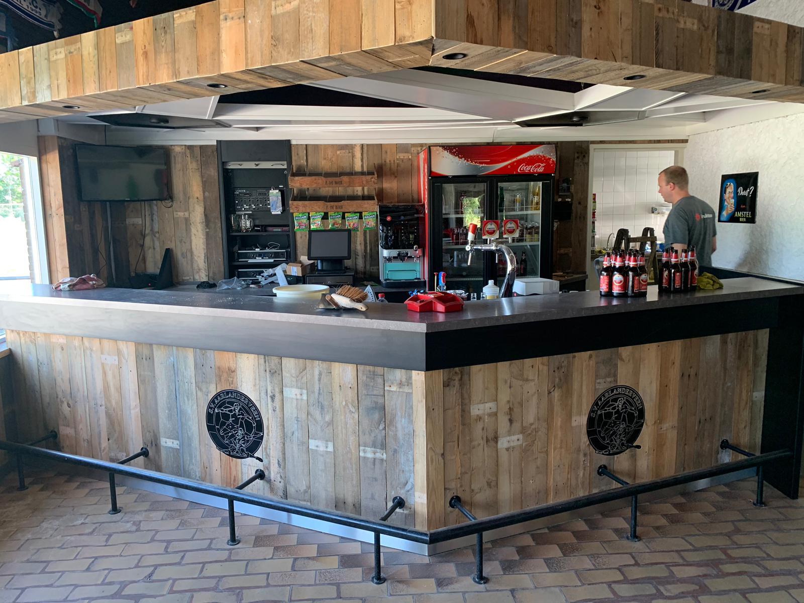 Vernieuwing van de bar