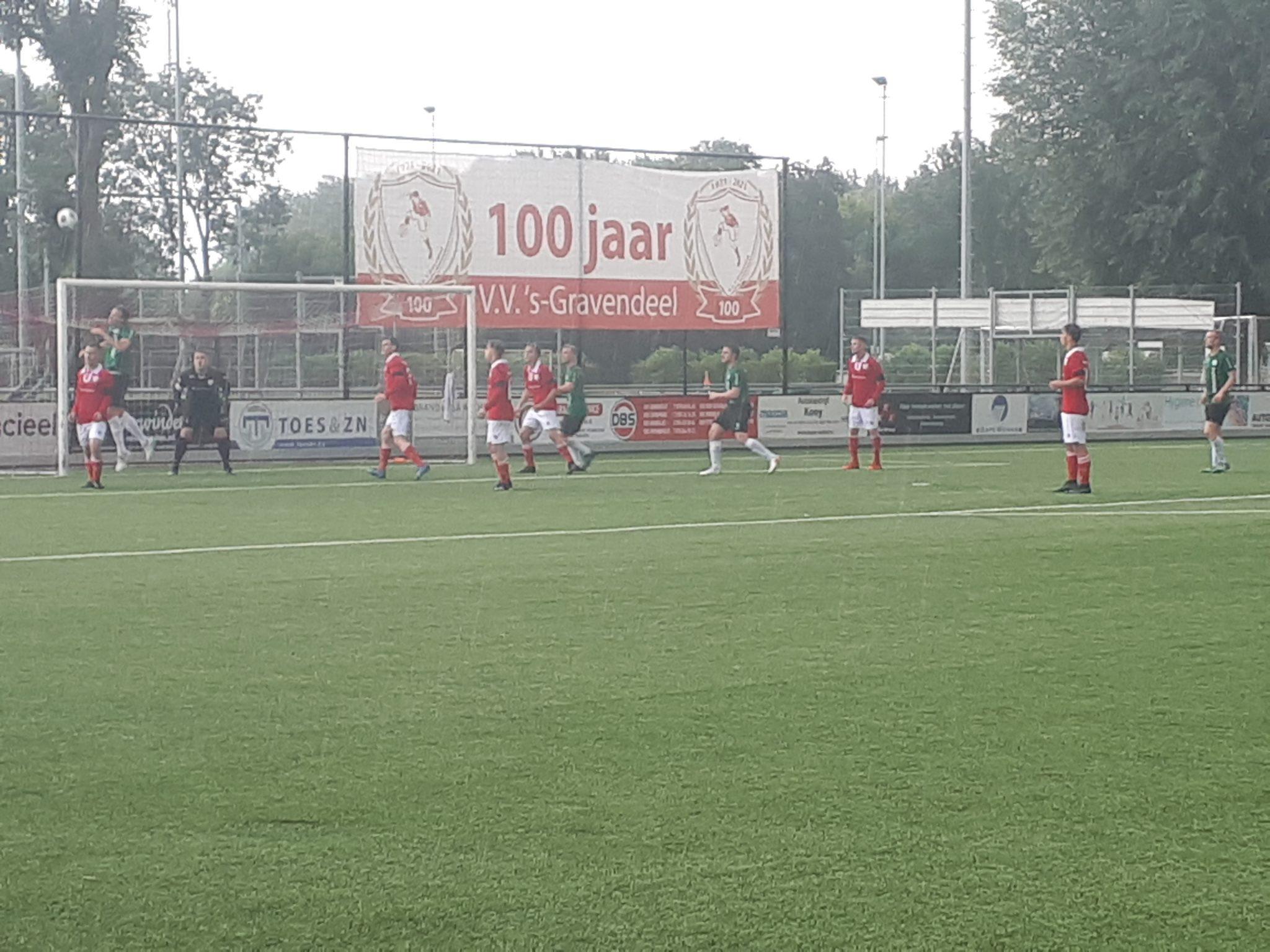 Tweede bekerwedstrijd tegen de 'Seuters' uit Hoeksche Waard.