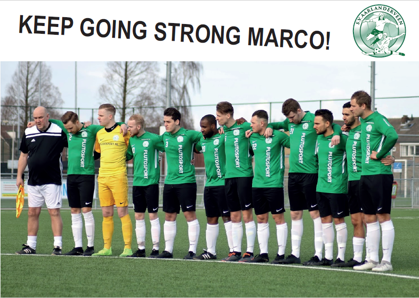 KEEP GOING STRONG, MARCO!