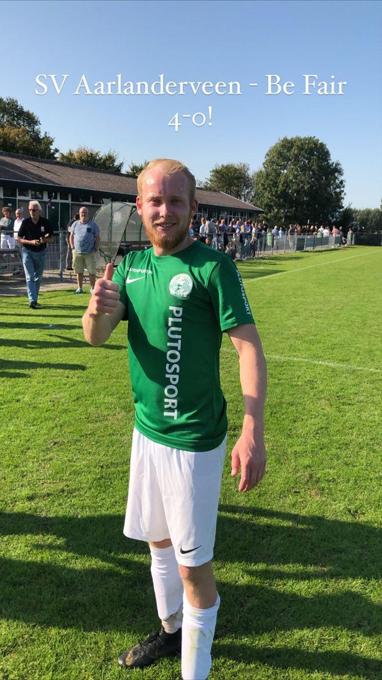 SV Aarlanderveen wint eerste competitiewedstrijd