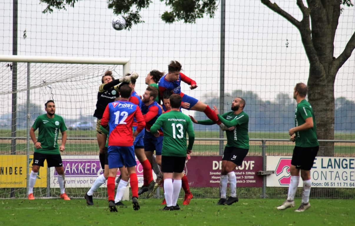 Verslag SV Aarlanderveen - CVC Reeuwijk