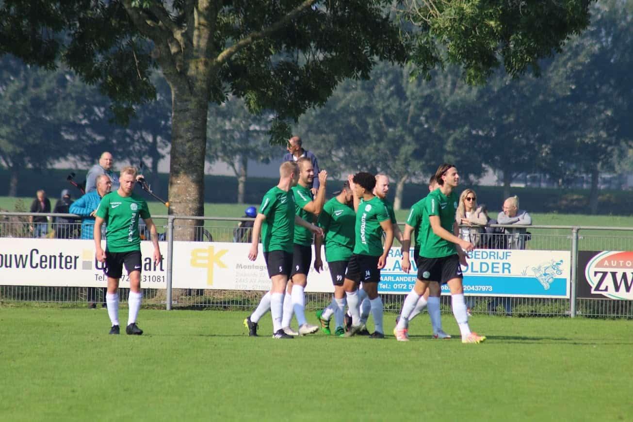 Verslag Sporting Leiden - SV Aarlanderveen