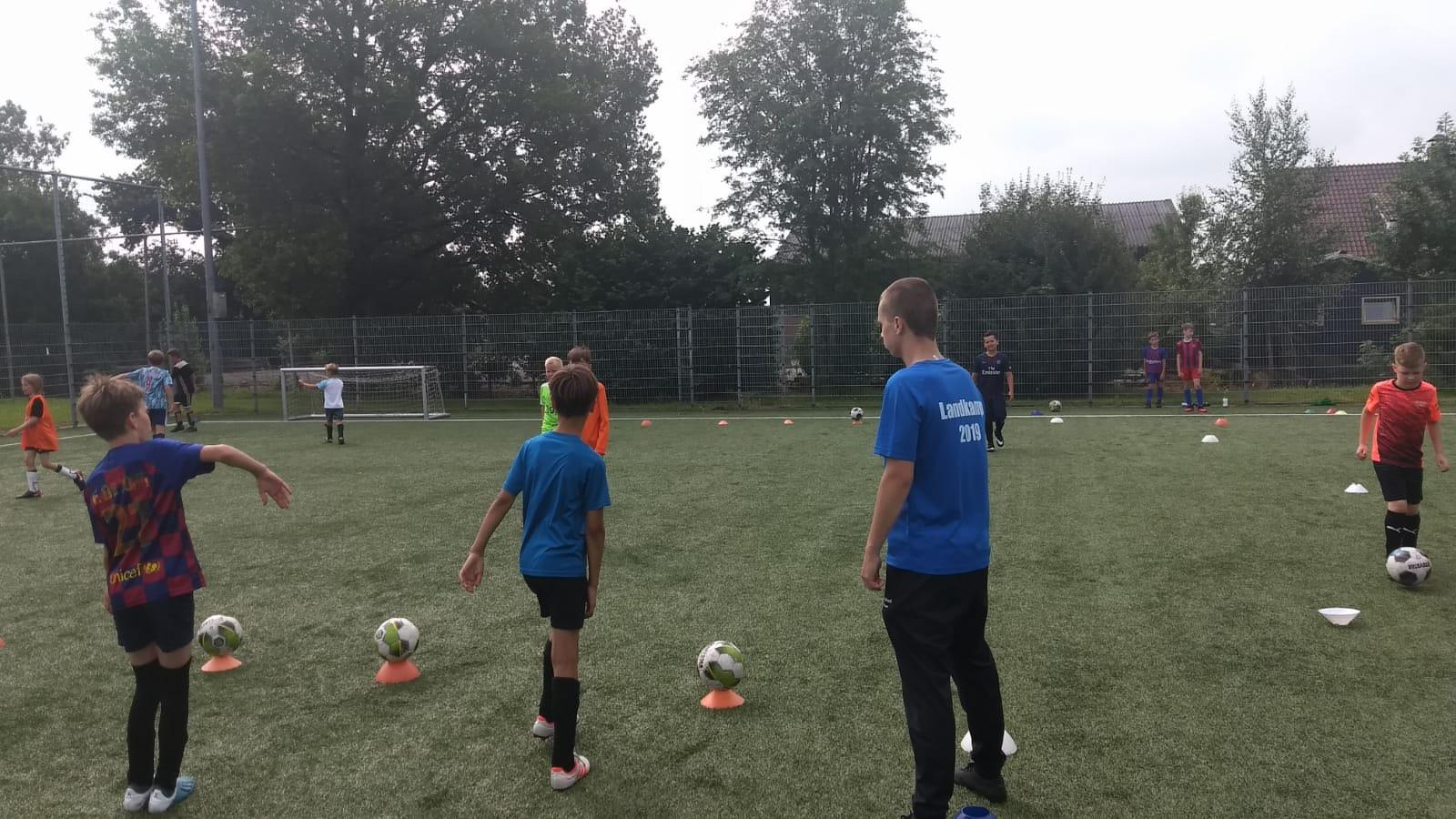 Training van Ruben en Steyn